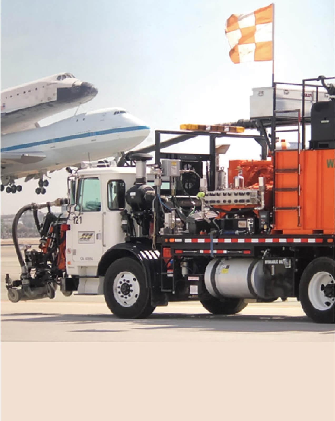 Servicio Eselca en industria aeroportuaria