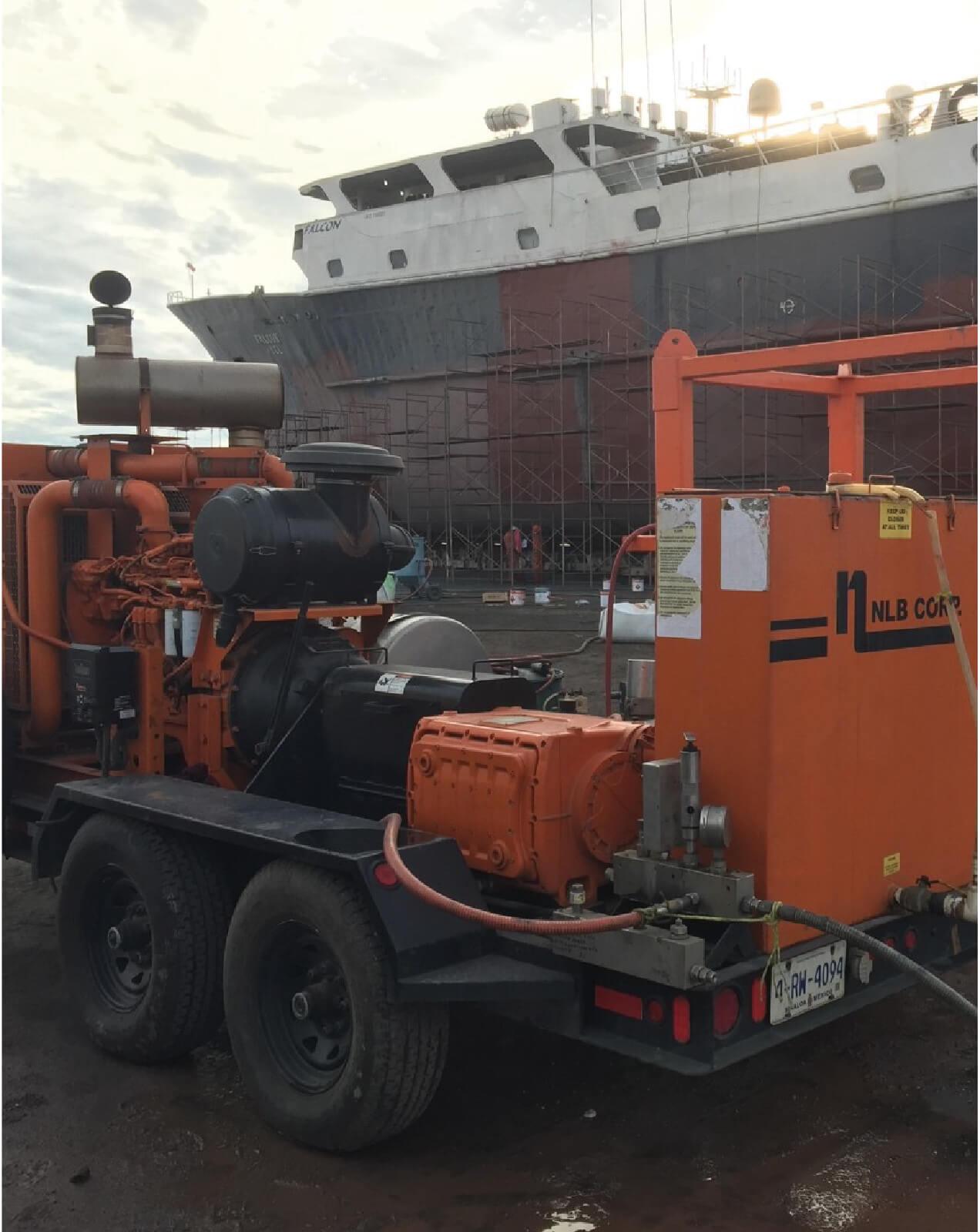 Servicio Eselca en industria naviera