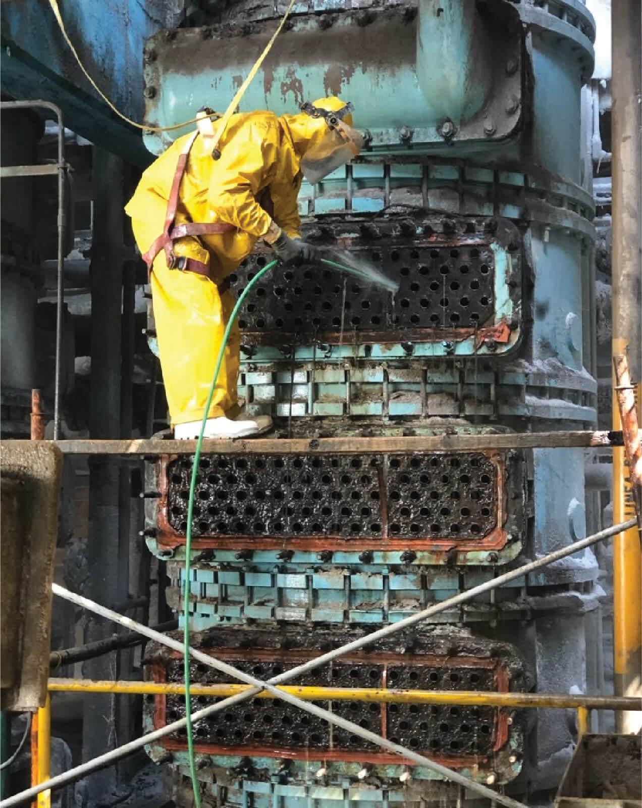 Servicio Eselca en industria petrolera y gas